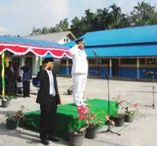 upacara peringatan detik-detik proklamasi khidmat