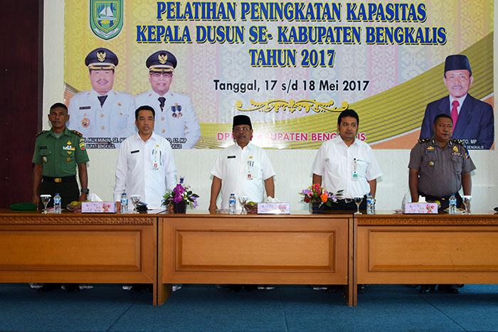 Bengkalis Daerah Pertama di Indonesia Laksanakan Diklat Kadus